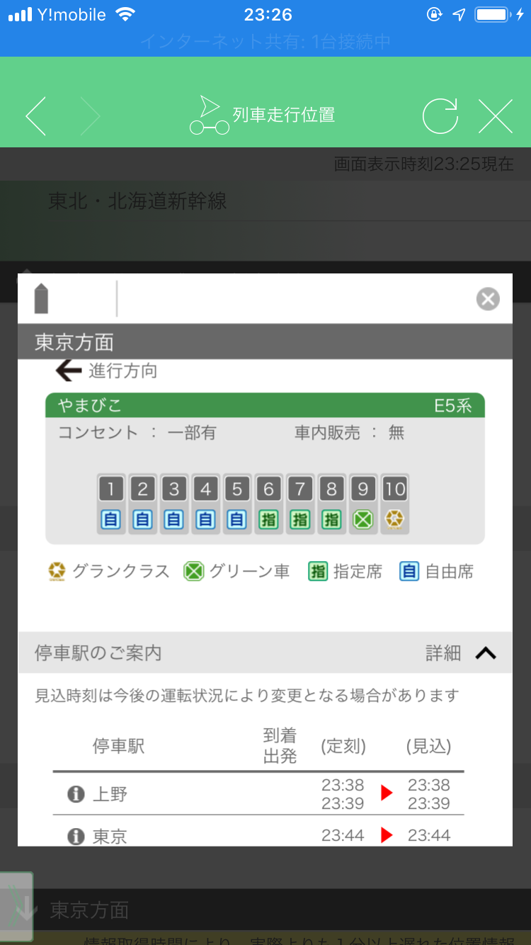 JR東日本 新幹線 電源コンセント